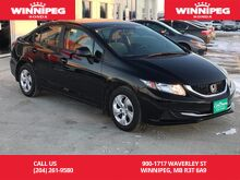 2013_Honda_Civic Sdn_LX/Local trade/Low kilometres_ Winnipeg MB