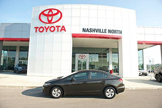 2013 Honda Civic Sdn LX Nashville TN