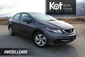 2013 Honda Civic Sdn LX, ONE OWNER, NO ACCIDENTS