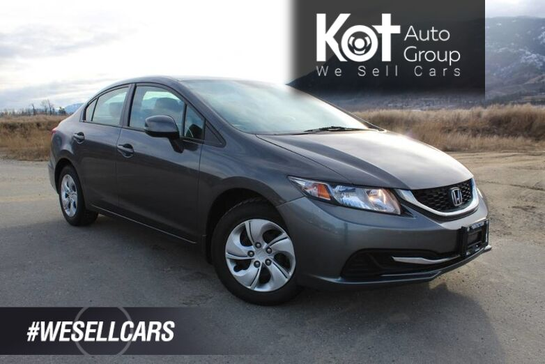 2013 Honda Civic Sdn LX, ONE OWNER, NO ACCIDENTS Kelowna BC