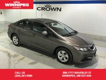2013_Honda_Civic Sdn_LX/One Owner/Lease return/Low KM_ Winnipeg MB