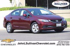2013_Honda_Civic Sdn_LX_ Roseville CA