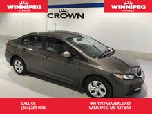 2013_Honda_Civic Sdn_LX/Winter tires/Lease return_ Winnipeg MB