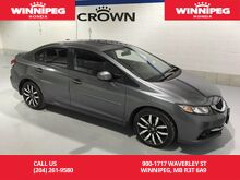 2013_Honda_Civic Sdn_Touring/Leather/Heated seats/Rear view camera/Sunroof_ Winnipeg MB