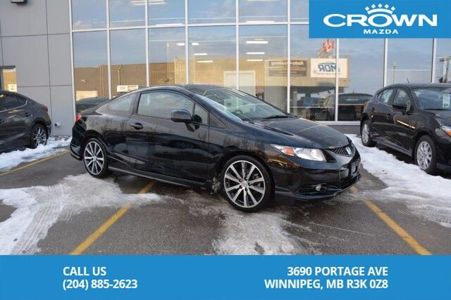 2013 Honda Civic Si *Honda Factory Performance Package/Winter Tires and Rims included* Winnipeg MB