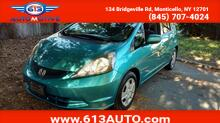 2013_Honda_Fit_5-Speed AT_ Ulster County NY