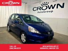 2013_Honda_Fit_LX/ LOW KMS/ locally owned_ Winnipeg MB