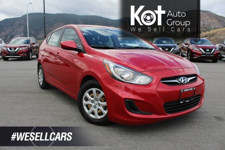 2013 Hyundai Accent GL AUTO HATCHBACK, ONE OWNER, CLEAN CARFAX Penticton BC