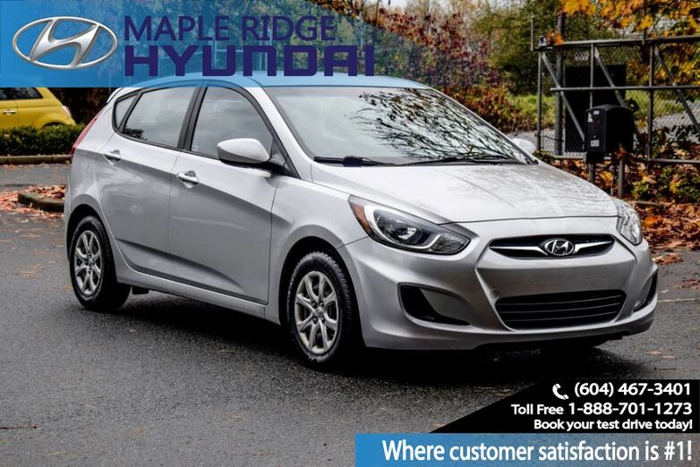 2013 Hyundai Accent GL, Bluetooth, Power Sunroof, Alloy wheels, Heated Seats Maple Ridge BC