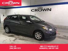 2013_Hyundai_Accent_GL HB Auto / Great Condition / Local / Low Kms_ Winnipeg MB