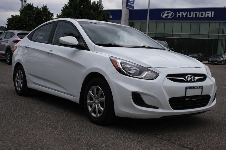 2013 Hyundai Accent GL No accident, One owner,Bluetooth,keyless entry,Heated seats. Kelowna BC