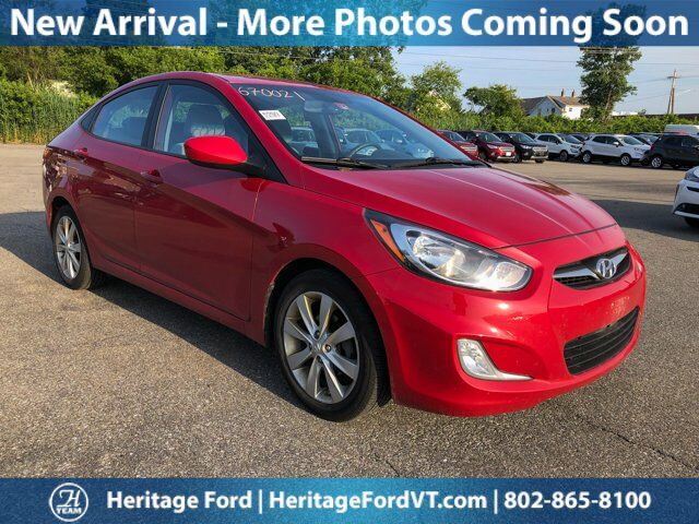 2013 Hyundai Accent GLS South Burlington VT