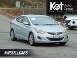 2013 Hyundai ELANTRA GL! GREAT DEAL! BLUETOOTH! HEATED SEATS! 1 OWNER! LOW PAYMENTS!