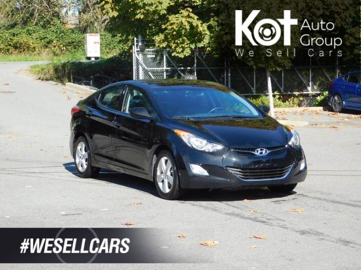 2013 Hyundai ELANTRA GLS! SUNROOF! BLUETOOTH! HEATED SEATS! Kelowna BC