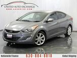 2013 Hyundai Elantra 1.8L Engine FWD Limited w/ Leather Heated Seats, Sunroof, Blueto