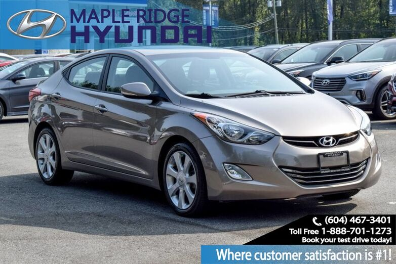 2013 Hyundai Elantra 4dr Sdn Auto Limited w/Navi *Ltd Avail* Maple Ridge BC