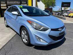 2013_Hyundai_Elantra Coupe_2d Coupe GS 6spd_ Albuquerque NM