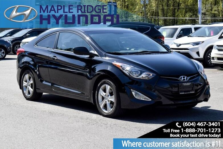 2013 Hyundai Elantra Coupe GLS Maple Ridge BC