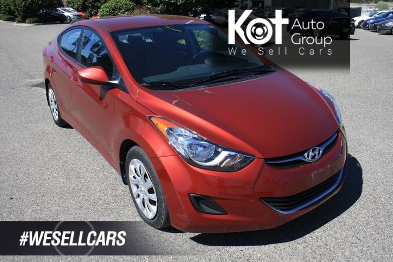 2013 Hyundai Elantra GL HEATED SEATS! VERY LOW KMS! BLUETOOTH! Kelowna BC