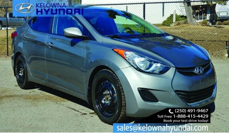 2013 Hyundai Elantra GL Heated seats, Bluetooth. Kelowna BC