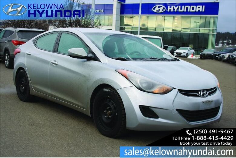 2013 Hyundai Elantra GL Heated seats, Bluetooth Kelowna BC