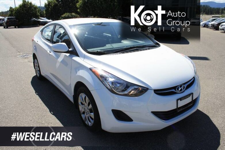 2013 Hyundai Elantra GL ONE OWNER! LOW KMS! BLUETOOTH! HEATED SEATS! Kelowna BC