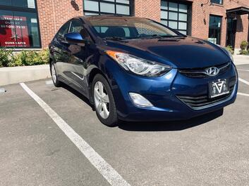 Hyundai Elantra GLS/Limited PZEV 2013