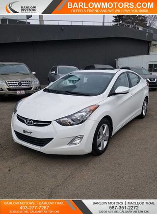 2013_Hyundai_Elantra_GLS SUNROOF AUTOMATIC HEATED SEATS_ Calgary AB