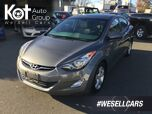 2013 Hyundai Elantra GLS Well Maintained! Great on Fuel, Sunroof!