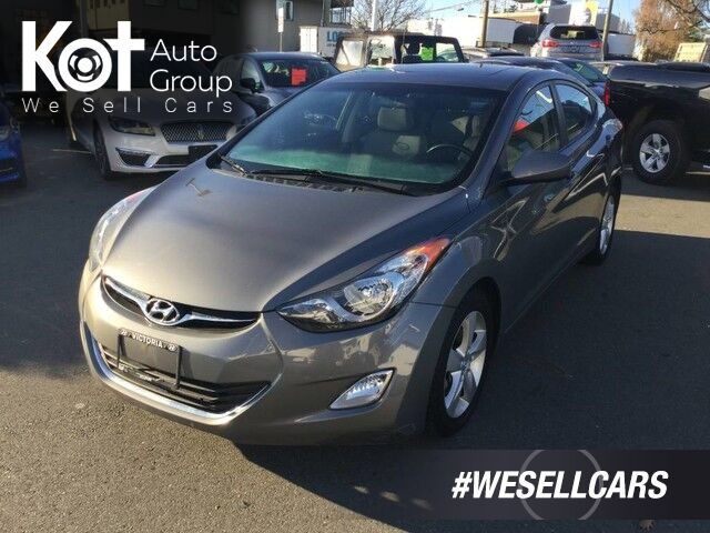 2013 Hyundai Elantra GLS Well Maintained! Great on Fuel, Sunroof! Victoria BC