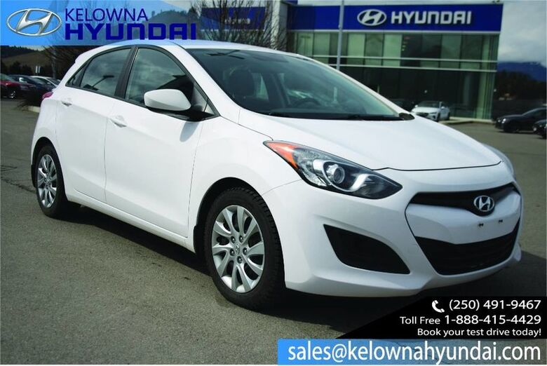 2013 Hyundai Elantra GT GL Heated seats, Bluetooth Kelowna BC