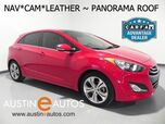 2013 Hyundai Elantra GT *NAVIGATION, BACKUP-CAMERA, PANORAMA MOONROOF, STYLE PACKAGE, LEATHER, HEATED SEATS, BLUETOOTH PHONE & AUDIO