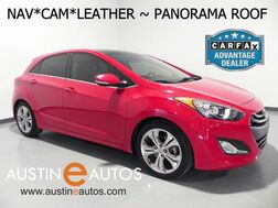 2013_Hyundai_Elantra GT_*NAVIGATION, BACKUP-CAMERA, PANORAMA MOONROOF, STYLE PACKAGE, LEATHER, HEATED SEATS, BLUETOOTH PHONE & AUDIO_ Round Rock TX