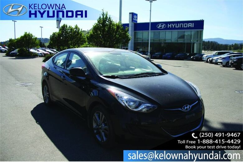 2013 Hyundai Elantra L No accident Kelowna BC