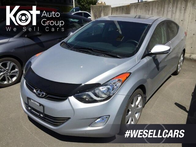 2013 Hyundai Elantra Limited LOW KM'S! NO ACCIDENTS! FANTASTIC CONDITION! Kelowna BC
