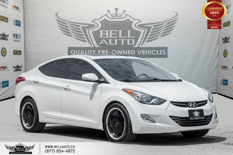2013 Hyundai Elantra Limited, NO ACCIDENT, SUNROOF, LEATHER, BLUETOOTH Toronto ON
