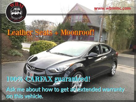 2013_Hyundai_Elantra_Limited Sedan_ Arlington VA