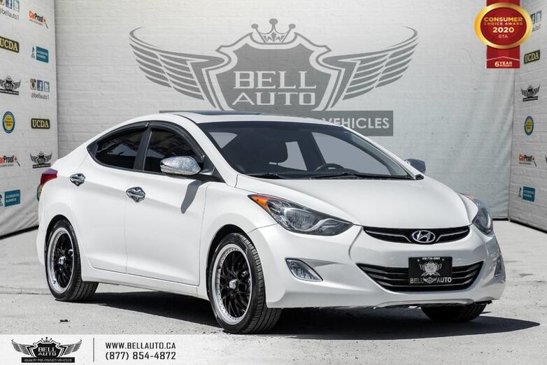 2013 Hyundai Elantra Limited w/Navi, LEATHER, REAR CAM, SUNROOF Toronto ON