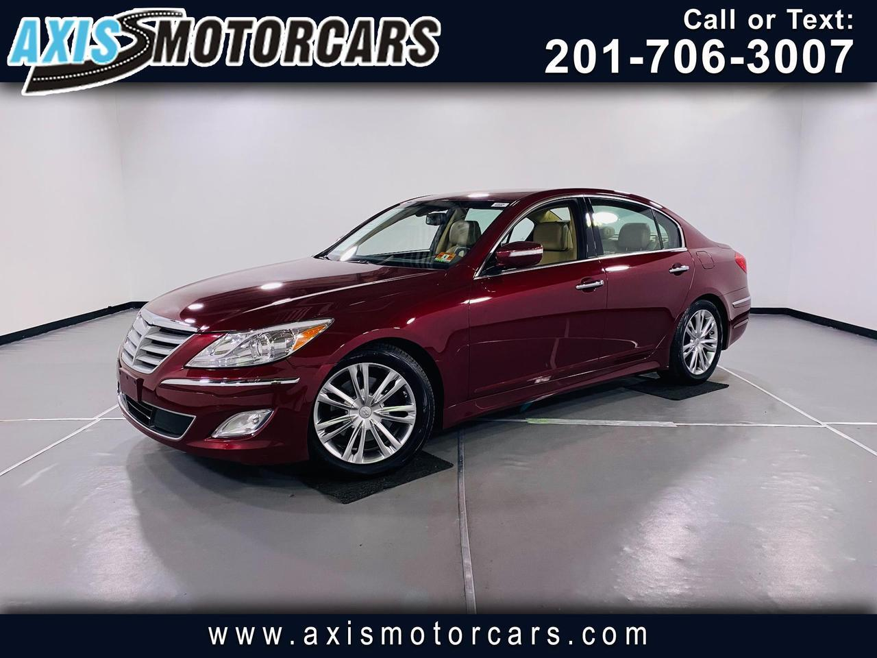 2013 Hyundai Genesis 3.8 4dr w/Lexicon Sound System Sunroof Jersey City NJ