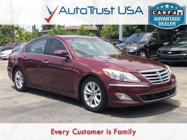 2013 Hyundai Genesis 3.8 LEATHER POWER SEATS BLUETOOTH Miami FL