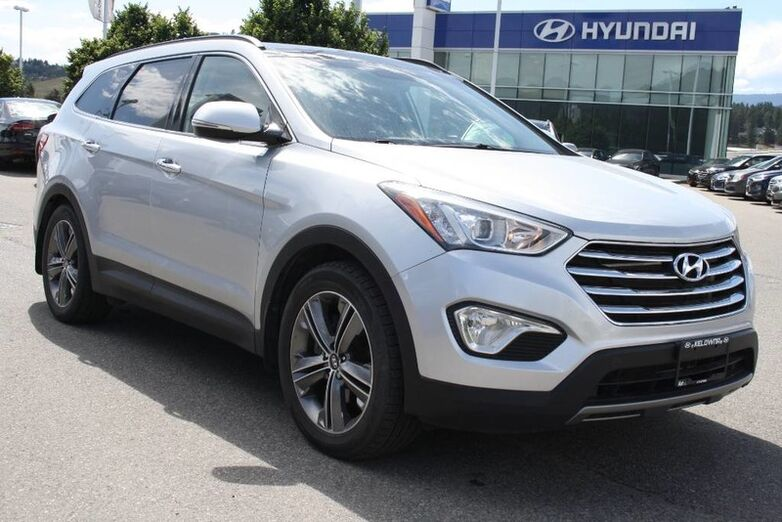 2013 Hyundai Santa Fe LTD w/Saddle Int One owner Kelowna BC