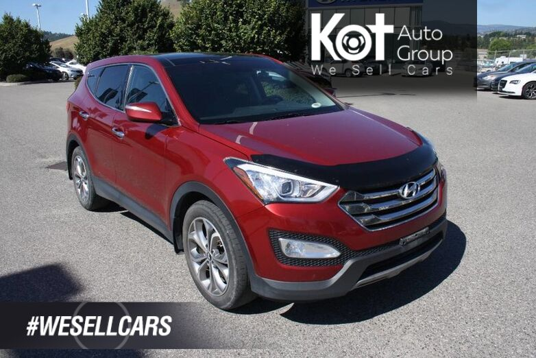 2013 Hyundai Santa Fe Limited FULLY LOADED! NO ACCIDENT! NAVIGATION! LEATHER! SUNROOF! Kelowna BC