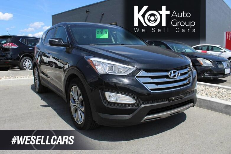 2013 Hyundai Santa Fe Limited, No Accidents, Beautiful Inside and Out!! Kelowna BC