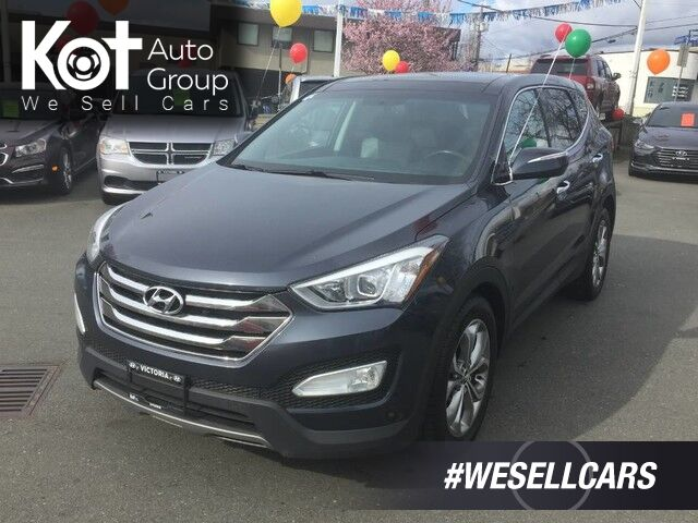2013 Hyundai Santa Fe Limited No Accidents! Leather Interior! Navigation Victoria BC