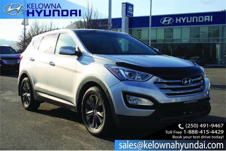 2013 Hyundai Santa Fe Luxury Heated seats/ Leather/Back up cam CPO 3.99% !! Kelowna BC