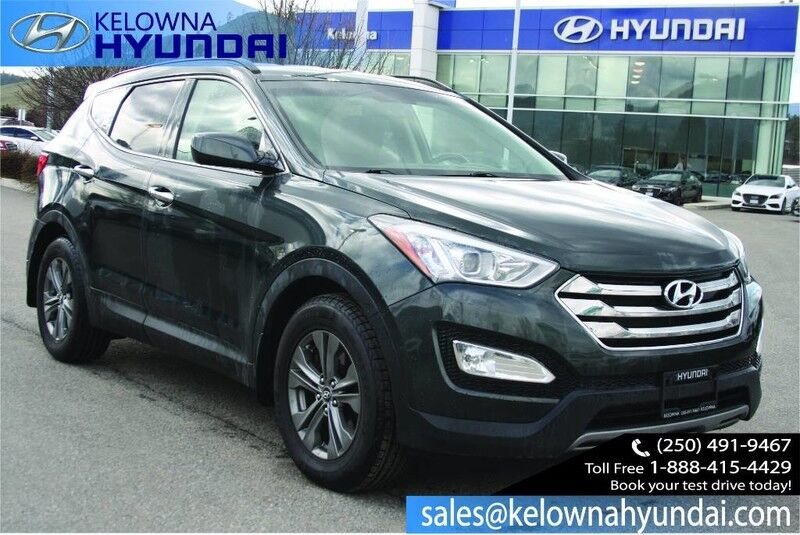 2013 Hyundai Santa Fe Premium 2.0T Push button start Kelowna BC