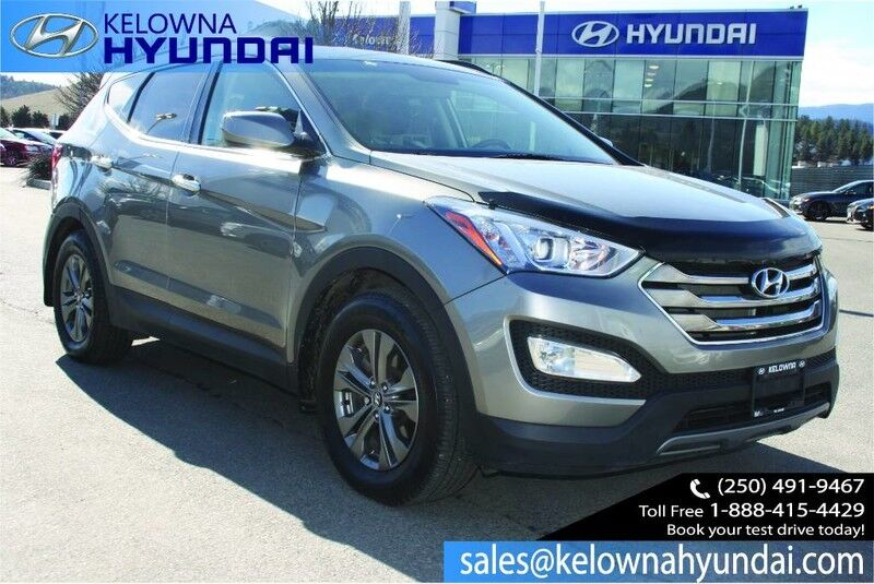 2013 Hyundai Santa Fe Premium Heated Seats, Bluetooth Kelowna BC