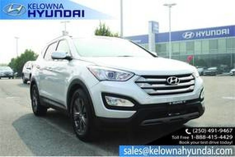 2013 Hyundai Santa Fe Premium Power window/Locks Kelowna BC
