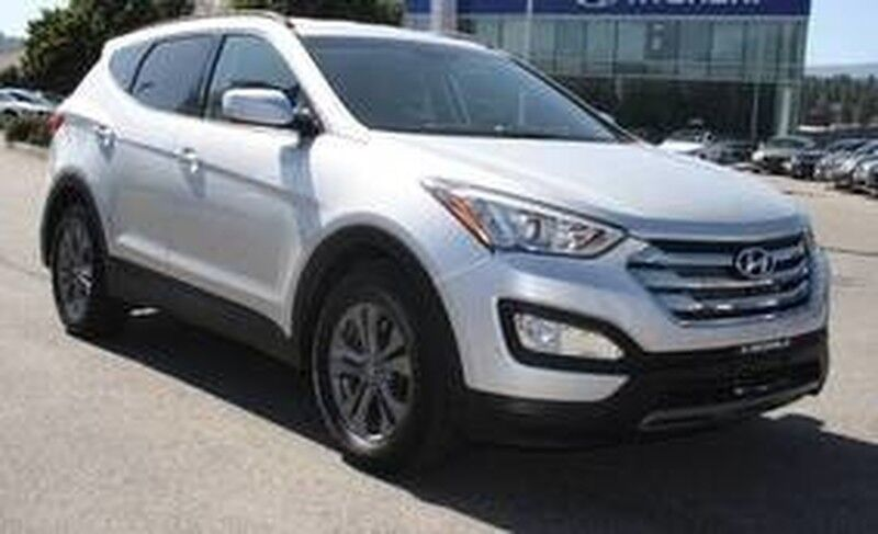 2013 Hyundai Santa Fe Premium Rear Parking Assist System Kelowna BC