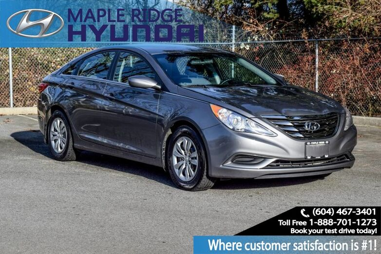 2013 Hyundai Sonata 4dr Sedan 2.4L Auto GLS Heated Seats, Bluetooth Maple Ridge BC